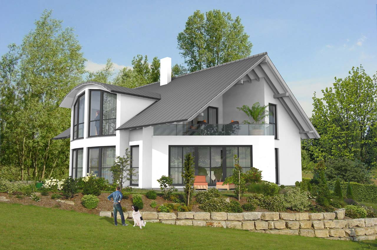 3d planung digabau gmbh for Haus muster